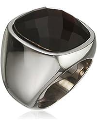 Tamaris Women's Ring Stainless Steel Zirconia Amy orange Size 60 (19.1)-A00210078