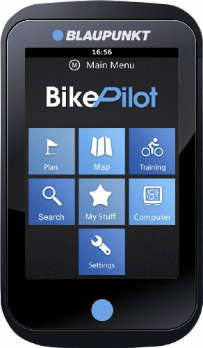 Blaupunkt Fahrradnavigation Bike Pilot, inklusive Bluetooth V.4, schwarz