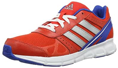 adidas HyperFast, Chaussures de running mixte enfant Multicolore - Mehrfarbig (hi-res orange f13/blue beauty/metallic silver) 28