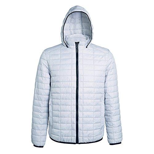 2786 Damen Jacke Women's Honeycomb Hooded Gilet, (White 000), 42