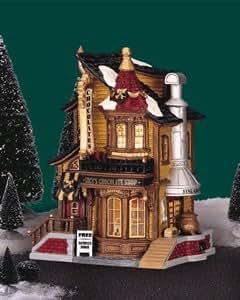 Lemax Christmas Village caddington Collection Lucy de chocolat Shop # 45052