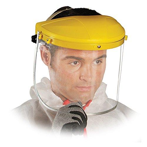 GESICHTSSCHUTZ KOMBINATION OTY Schutzvisier Kopfgetstell Klappvisier Kopfschutz