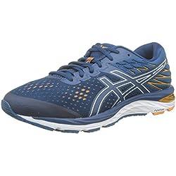 ASICS Gel-Cumulus 21, Chaussures de Running Homme, Bleu (Mako Blue/White 400), 42 EU