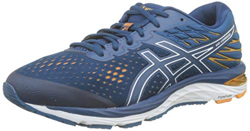 Asics Gel-Cumulus 21, Men's Running Shoes, Blue (Mako Blue / White 400), 42.5 EU