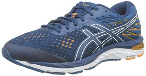Asics Gel-Cumulus 21, Zapatillas de Running para Hombre, Azul (Mako Blue/White 400), 42.5 EU