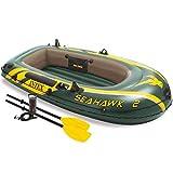 Intex Set bateau gonflable avec rames + pompe Seahawk 2 68347NP
