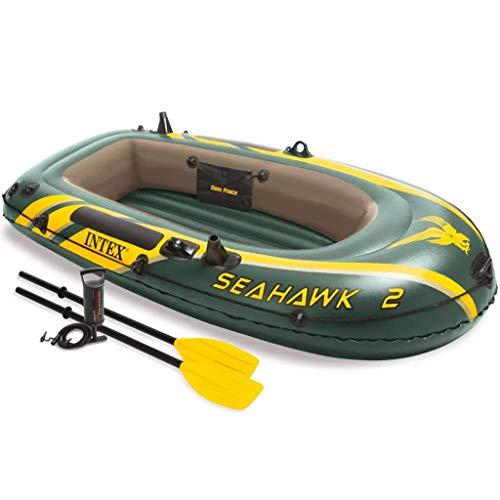 Intex Seahawk 2 Set Schlauchboot + Paddel + Pumpe Angelboot Ruderboot 68347NP