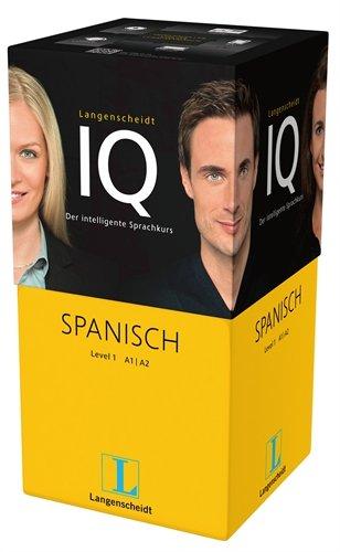 Preisvergleich Produktbild Langenscheidt IQ Spanisch - Der intelligente Sprachkurs - Package aus 2 Büchern mit MP3-CDs, Audio-Kurs auf MP3-CD, Software-Training auf USB-Stick ... Classroom, Online-Lern-Manager, Headset