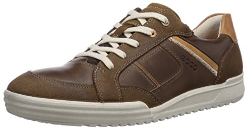 Ecco Fraser Cocoa Brown/cocoa Brown/lion Os/s, Derbies à lacets homme Marron - Braun (CocoaBrown/Cocoa Brown/Lion OS/S58979)