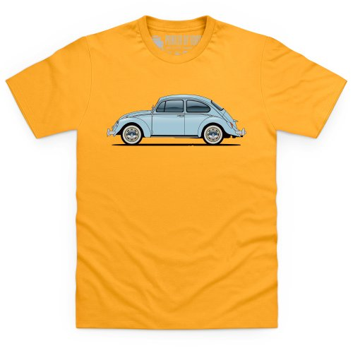 General Tee Veeedub Beetle T-Shirt, Herren Gelb