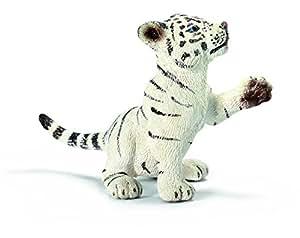 Schleich - 14385 - Figurine - Bébé Tigre Jouant - Blanc