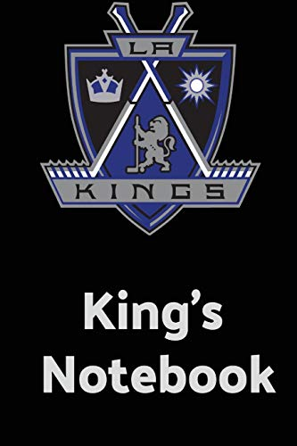 King's Notebook: 2018-2019 NHL Match Day Journal For Los Angeles Kings' Fan: Volume 2 (NHL Notebook) por Crazy Fan
