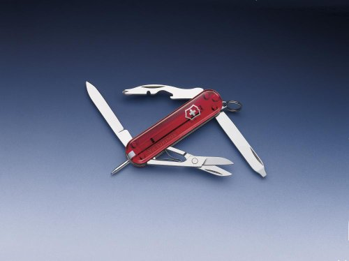 Victorinox Taschenmesser Classic, Manager, 10 Funktionen, rot ()