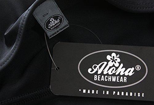 Aloha-Beachwear Damen Bikini A1020 Schwarz Gr. 44 -