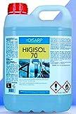HIGISOL 70 - Solución Hidroalcohólica para Manos y Superficies, antibacterias de secado instantáneo.