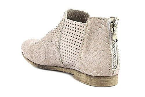 CAFè NOIR FC171 beige scarpe stivaletto tronchetto donna zip tallone Beige