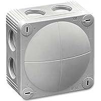 Feuchtraum Abzweigkasten ohne Klemmen 110x110x66mm