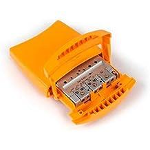 Amplificador de mástil 1e BI/BII/DAB 30dB, 1e FM 15dB, 1e UHF 41dB