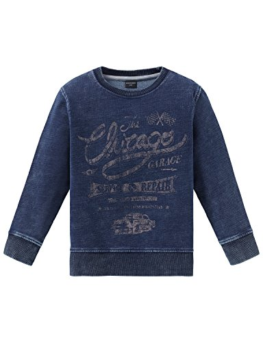 Schiesser Jungen Sweatshirt, Blau (Dunkelblau 803), 104