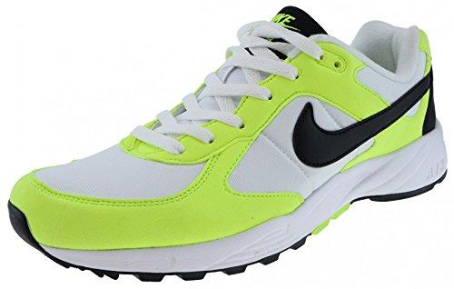 Nike Air Icarus Nsw, Chaussures de Sport Homme Blanc Cassé - Blanco (White / Black-Black-Volt)