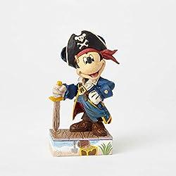 Disney Traditions de Jim Shore por Enesco Mickey pirata Figura decorativa