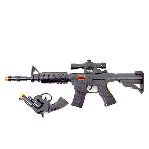 WDK PARTNER - A1100048 - Déguisements - Fusil à Bruit et Pistolet