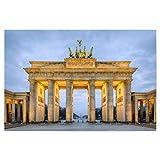 artboxONE Poster 45x30 cm Städte/Berlin Brandenburger Tor