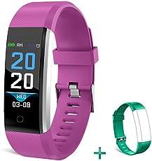 Bonice fitness tracker HR, Bluetooth fitness orologio con cardiofrequenzimetro, contapassi, sleep tracker, contatore di calorie, impermeabile