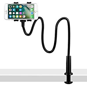 SHAWE Phone Stand, iPhone Dock,Universal Table Phone Holder, Cradle, Dock for iPhone 6 6s 7 plus 8 X, HUAWEI, Samsung S6 S7 S8 Series, Desk Accessories and other Mobile Phones (Phonestand - Black)