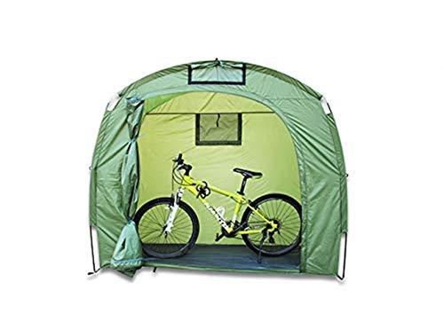 DSRC Outdoor-Zelt Fahrrad Schutzhülle, Outdoor Fahrrad Praktische Mountainbike Regen- Und Winddichtes Faltzelt, Fahrradzelt
