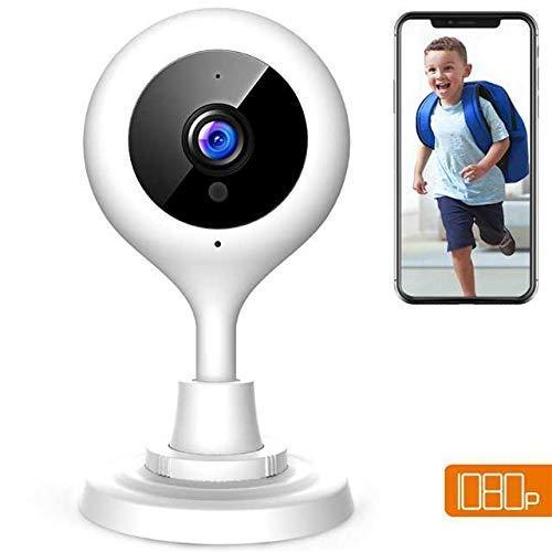 Apeman FHD 1080P Telecamera sorveglianza WIFI Interno,Telecamera IP di sicurezza wireless, Audio Bidirezionale, Elder/Pet/Baby monitor,Modalità Notturna a Infrarossi, Compatibile con iOS e Android