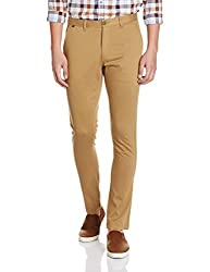 Indigo Nation MenS Suit Trousers (8907372925950_1It82041_ 32_ Brown)