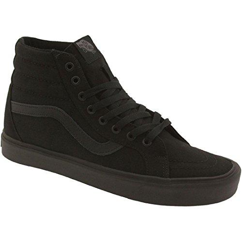 Vans Unisex-Erwachsene Sk8-Hi Lite Plus Sneaker Schwarz (canvas/black/black)