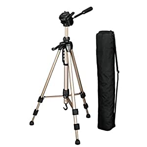Hama Star 61 Camera Tripod incl. Carrying Bag - Black