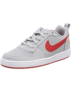 NIKE Court Borough Low (GS), Zapatos de Baloncesto Unisex Niños