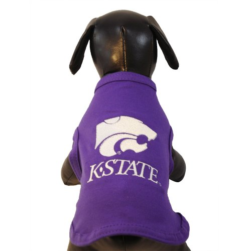 NCAA Kansas State Wildcats Baumwolle Lycra Hund Tank Top, xx-small -