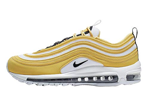 innovative design 906aa 45efa Nike W Air Max 97, Scarpe da Atletica Leggera Donna, Multicolore (Topaz Gold