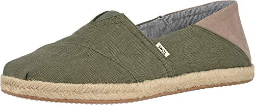 TOMS Herren Men Alpargata Convertible On Rope Linchen Green Espadrilles, Grün 000, 43.5 EU