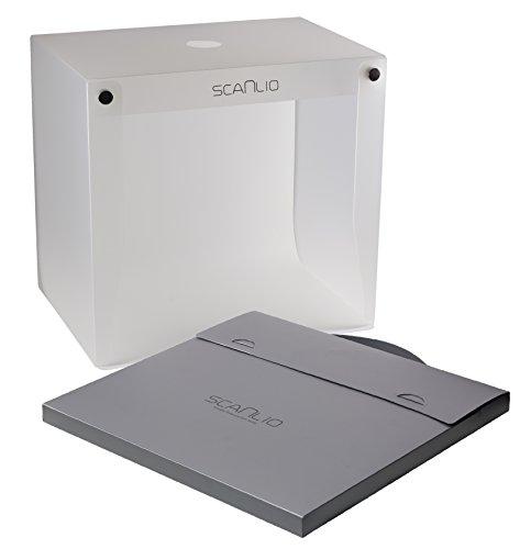 Studio photo et scan SCANLIO, boîte légère pliable premium, peut numériser des documents, tente cubique de lumière