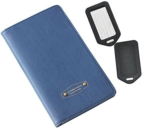 rfid-blocking-passport-case-blue-multi-function-organizer-by-one-planet-credit-debit-card-cover-for-