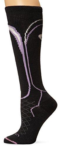Lorpen Damen Merino Wandersocken TCXTM Ski Light Socken, damen, schwarz (Ski Lorpen Merino Socken)