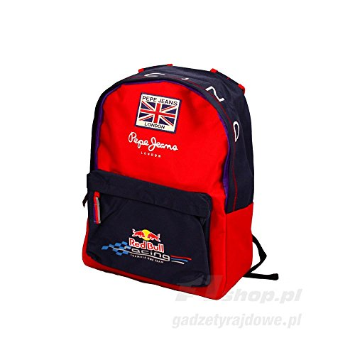Pepe Jeans London Red Bull Racing F1 Team zaino, blu, Ricciardo, Kvyat