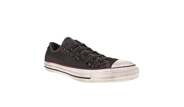 bd73e7b4ea2a7c Converse Well Worn Ox - 9 Uk - Black   White - Fabric  Amazon.co.uk  Shoes    Bags