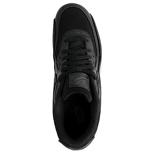 Nike Herren Air Max 90 Premium Sneaker, Grau black-black-white (700155-008)