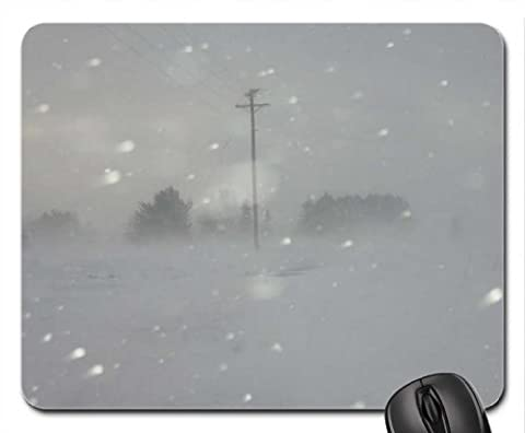Blizzard Wetter Maus Pad, Mauspad