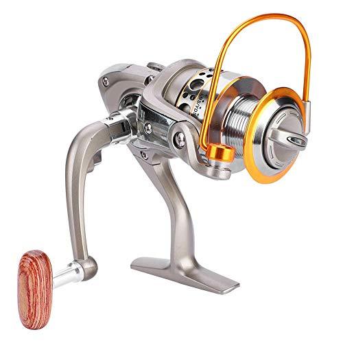 Fishlor Heckbremsrolle, LC 1000-7000 12BB 5.5: 1 Angelrolle Klappbarer Arm Rocker Heckbremsrolle Fisch Spinnräder(LC1000) -