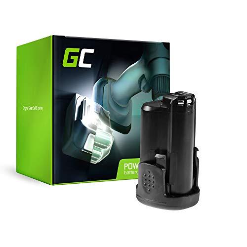 GC® (1.5Ah 10.8V Li-Ion Zellen) PBA 12 Power4All 1600A00H3D 1600A0049P Akku für Bosch PSR PSB PSM PMF PST PKS AHS mit Grün 10.8-12V Serie Werkzeug Ersatzakku