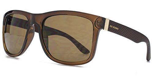 ben-sherman-texturierte-tempel-kunststoff-sonnenbrille-im-crystal-brown-ben003-one-size-brown