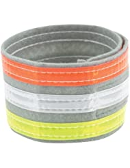 Nathan Reflective Ankleband Tri-Color