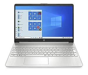 HP 15 10th Gen Intel Core i5 Processor 15.6-inch FHD Laptop (8GB/1TB HDD/Win 10 Home/MS Office/Finger Print Reader/Natural Silver), 15s du1034TU